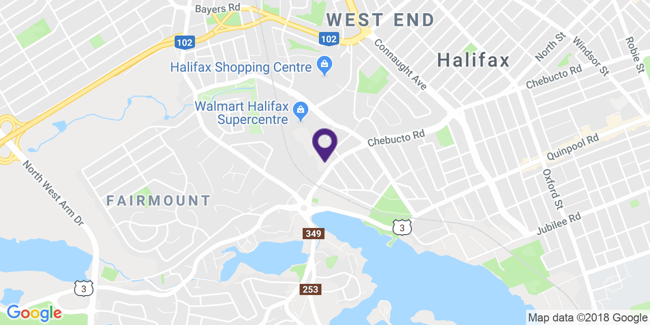Map to: Halifax, Latitude: 44.644326 Longitude: -63.61864