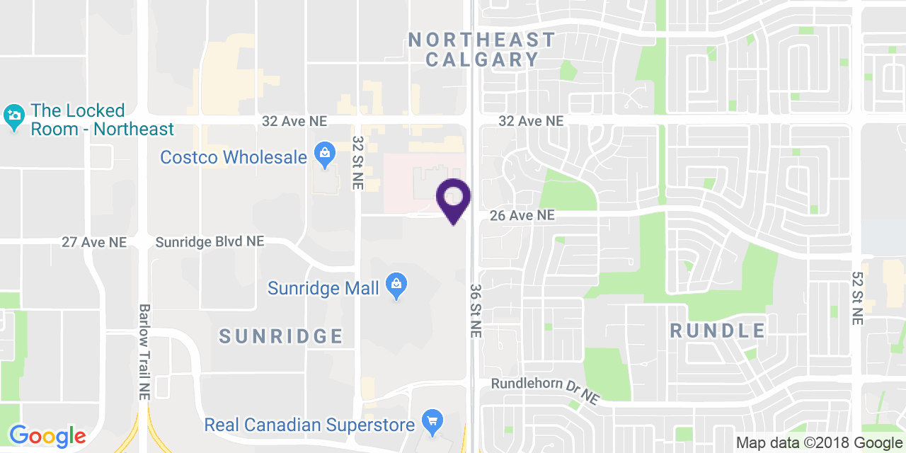 Map to: Northeast Calgary, Latitude: 51.077438 Longitude: -113.982865