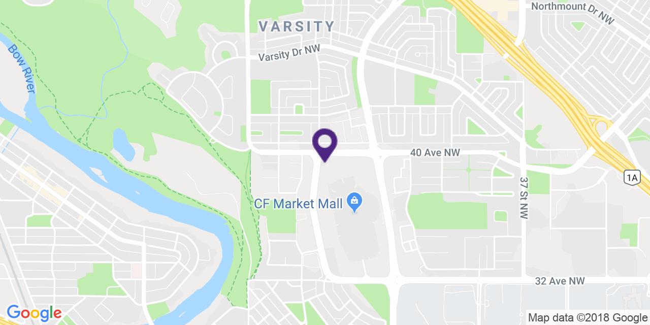 Map to: Northwest Calgary, Latitude: 51.087712 Longitude: -114.157994