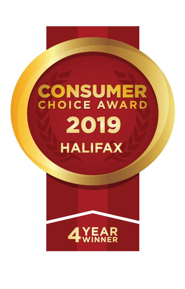 Consumer Choice Award Halifax 2019