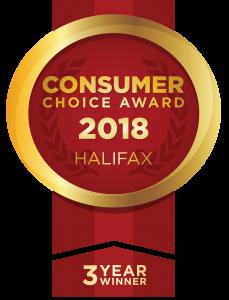 Consumer Choice Award, 3-year winner