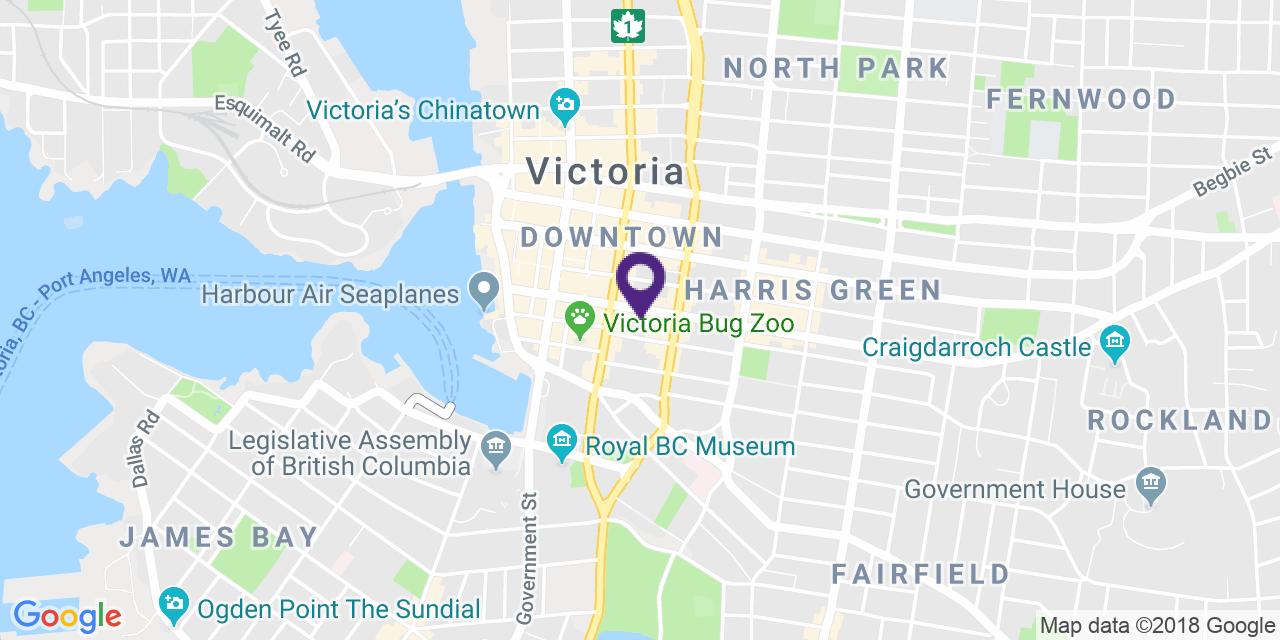 Map to: Victoria, Latitude: 48.424196 Longitude: -123.364065