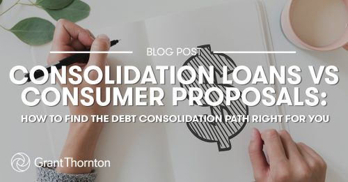 Debt Consolidation Grant Thornton Limited