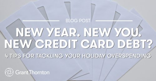 Holiday Credit Card Debt - Grant Thornton Limited