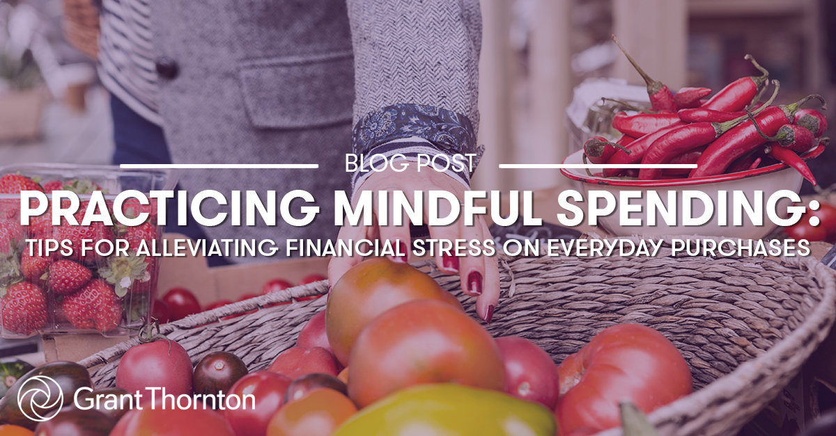 Mindful Spending, Grant Thornton Limited