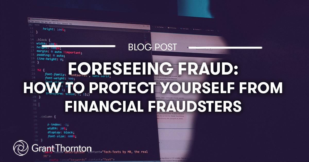 Financial Fraud Blog, Grant Thornton Limited