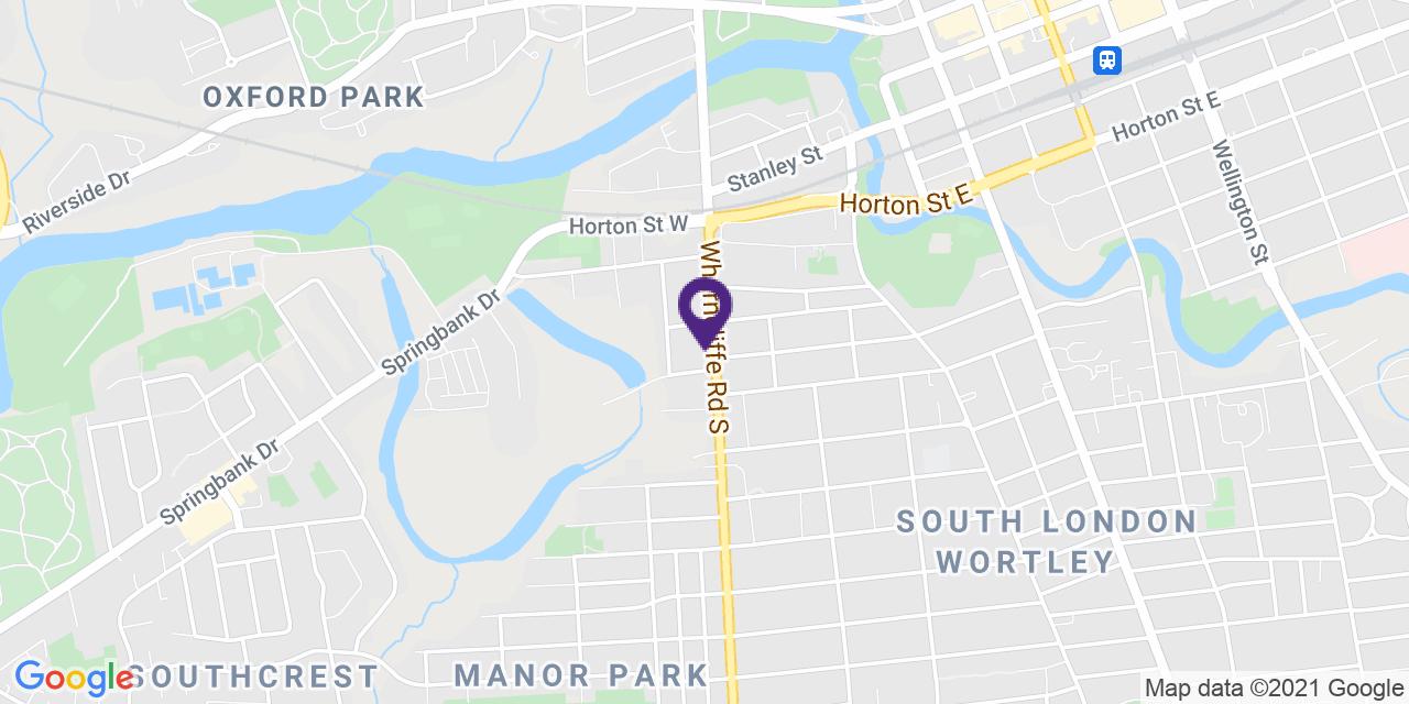 Map to: London, Latitude: 42.973000 Longitude: -81.2624